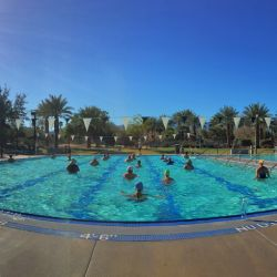 Palm Desert Aquatic Center Pool Slides And Fun